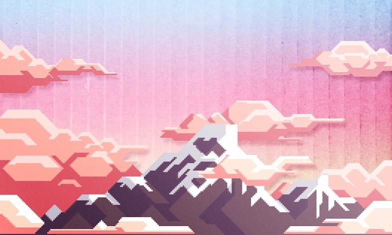 PixelMountainSML